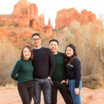 Sedona and Cottonwood Family Photography: Chua Family