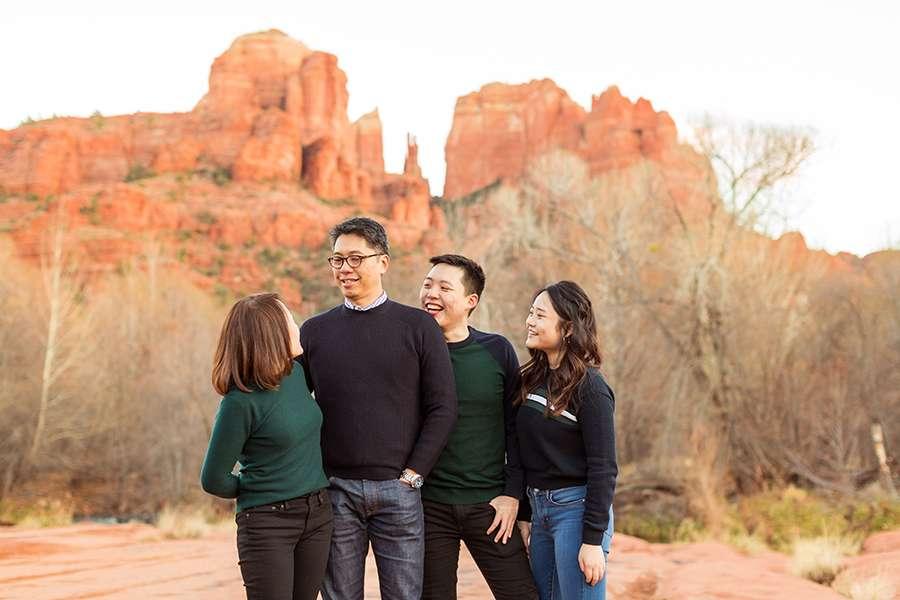 Sedona and Cottonwood Family Photography: Chua Family