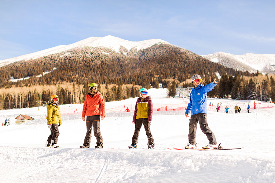 Arizona Snowbowl: Flagstaff Arizona Marketing Photography