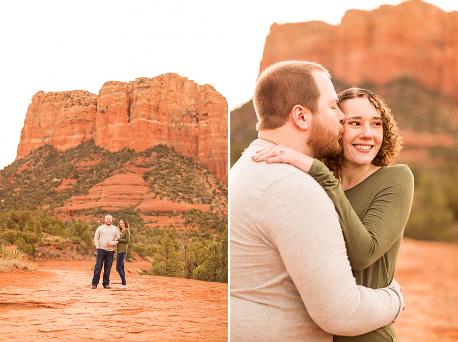 Saaty Photography - Brittany and Frank - Sedona Arizona Engagement Photographers -40 Testimonials for Best Sedona Photographer
