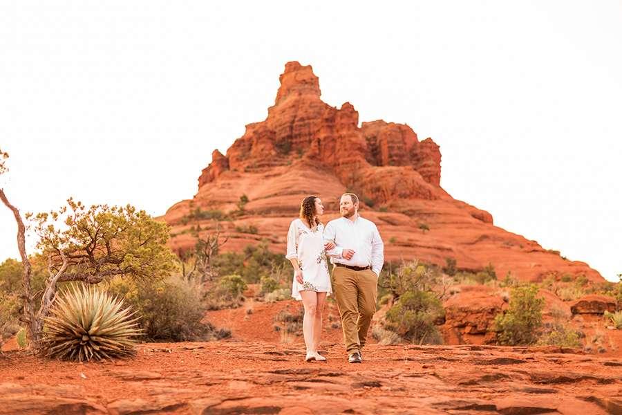 Saaty Photography - Brittany and Frank - Sedona Arizona Engagement Photographers -6 Testimonials for Best Sedona Photographer