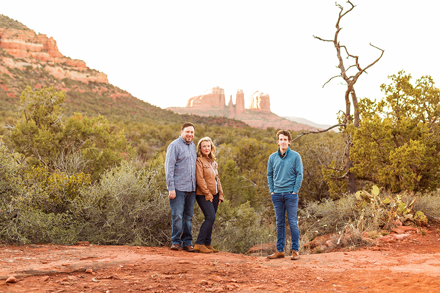 Saaty Photography - McCann Family - Family and Anniversary Photographer Sedona Arizona -13