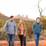 Family and Anniversary Photography Sedona Arizona: McCann Family