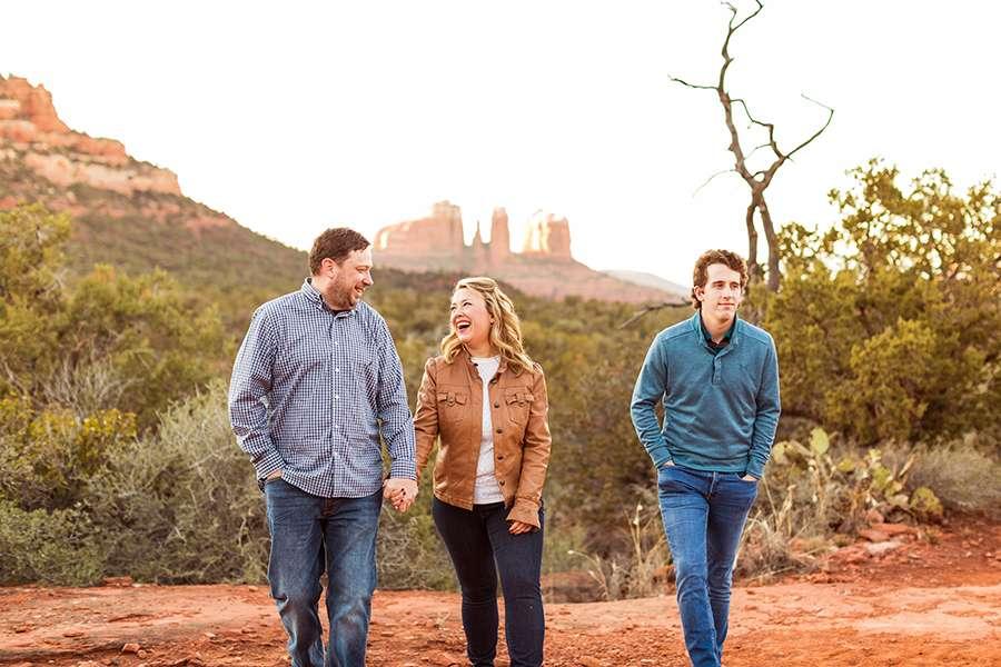 Saaty Photography - McCann Family - Family and Anniversary Photographer Sedona Arizona -16