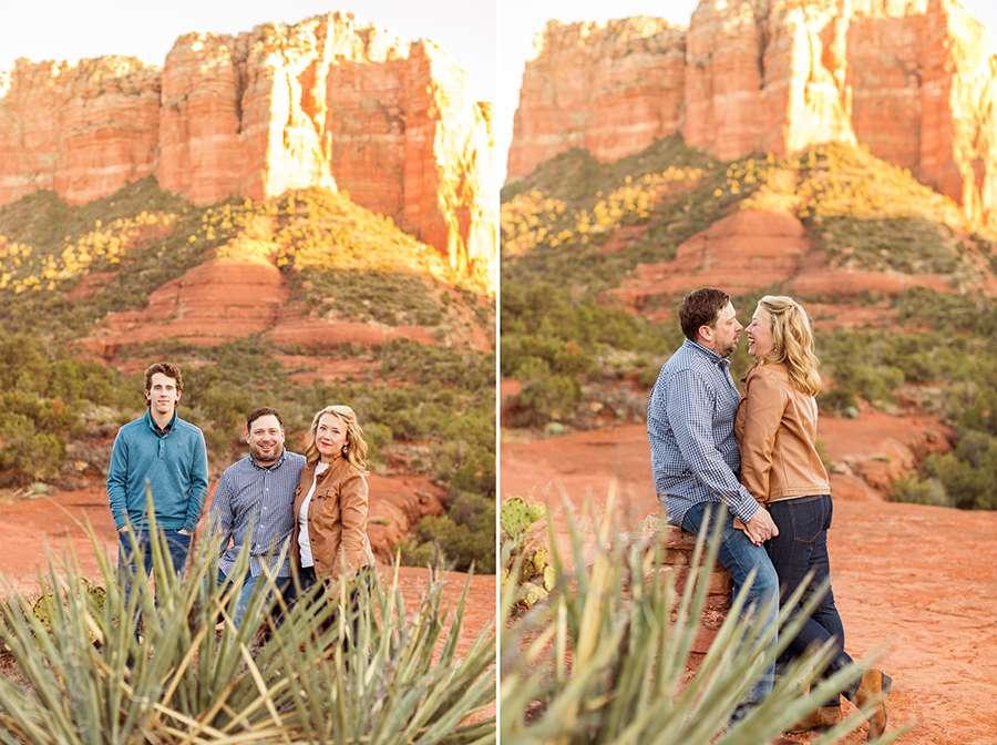 Saaty Photography - McCann Family - Family and Anniversary Photographer Sedona Arizona -25