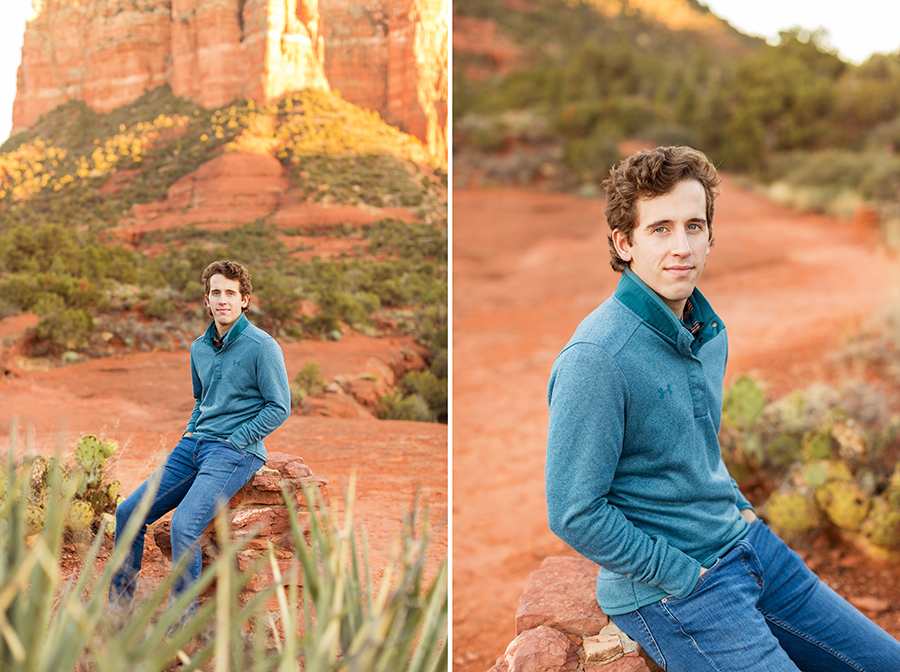 Saaty Photography - McCann Family - Portrait Photography Red Rock Country -senior