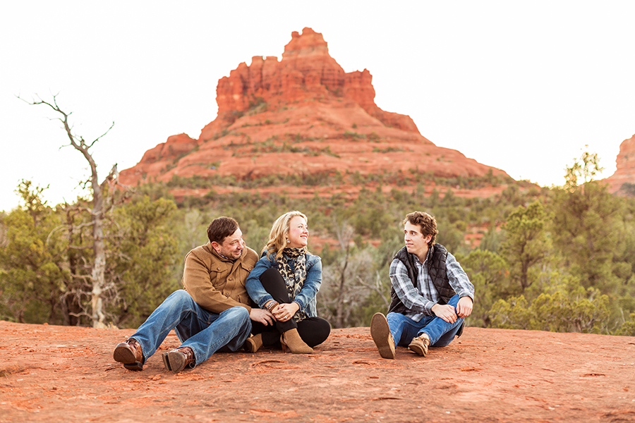 Saaty Photography - McCann Family - Portrait Photography Red Rock Country -happy