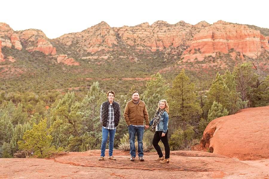 Saaty Photography - McCann Family - Family and Anniversary Photographer Sedona Arizona -56