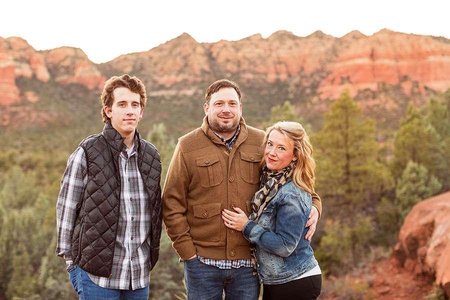Saaty Photography - McCann Family - Family and Anniversary Photographer Sedona Arizona -57
