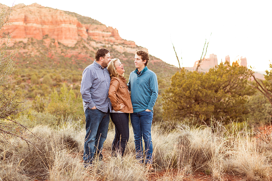 Saaty Photography - McCann Family - Portrait Photography Red Rock Country -family