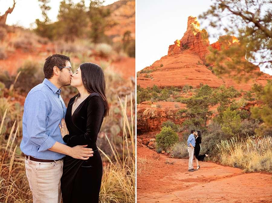 Stephanie and Mike: Sedona Arizona Engagement Photography