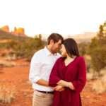 Sedona Arizona Engagement Photography: Stephanie and Mike