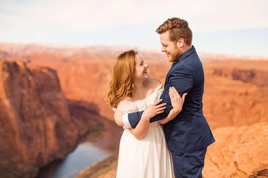 Saaty Photography - Ana and Michael - Horseshoe Bend Engagement and Elopement Photographer -11 - Arizona Adventure Vacation Destination: Horseshoe Bend