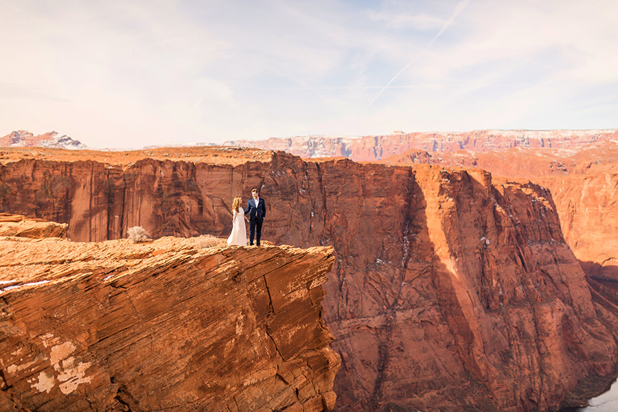 Horseshoe Bend Engagement and Elopement Photographer: Ana and Mike