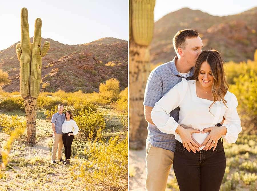 Saaty Photography - Caitlin and Sam - Maternity and Family Photographer Northern Arizona -1