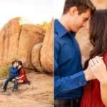 Watson Lake and Prescott Arizona Engagement Photography: Kayla and Scott