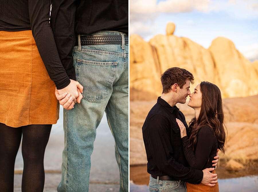 Kayla and Scott - Watson Lake and Prescott Arizona Engagement -46