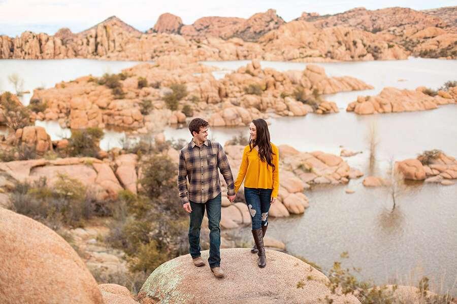 Saaty Photography - Kayla and Scott - Watson Lake and Prescott Arizona Engagement Photographer -64 Importance of Arizona Engagement Photography