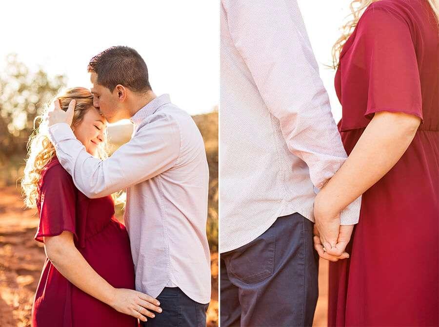 Saaty Photography - Kristen and Joe - Maternity Photographers Sedona Arizona -17