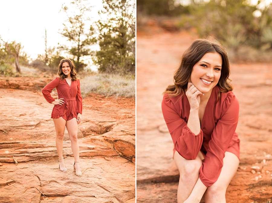 Saaty Photography - Madelyn - Senior Portrait Sedona and Flagstaff Arizona -8