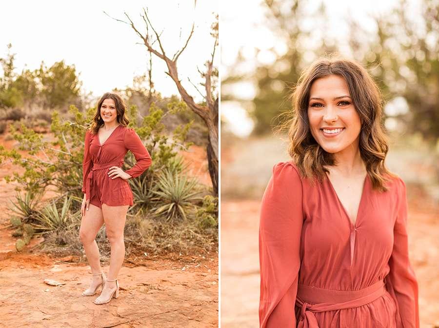 Saaty Photography - Madelyn - Senior Portrait Photographer Sedona and Flagstaff Arizona -2