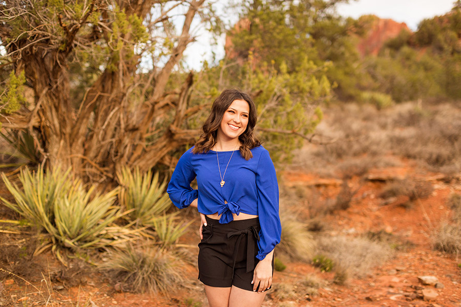 Saaty Photography - Madelyn - Senior Portrait Photography Sedona and Flagstaff Arizona -26