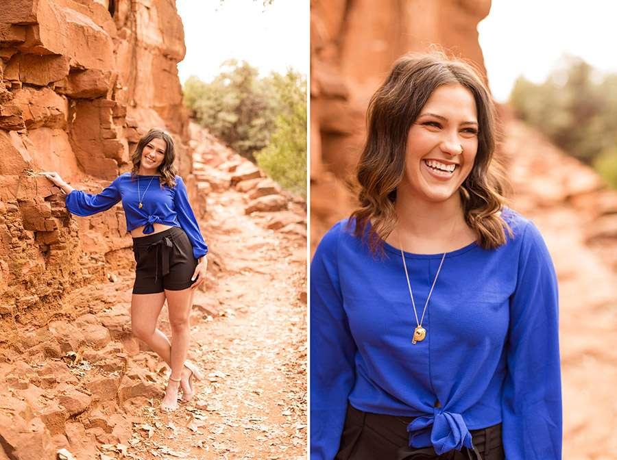 Saaty Photography - Madelyn - Senior Portrait Photographer Sedona and Flagstaff Arizona -30