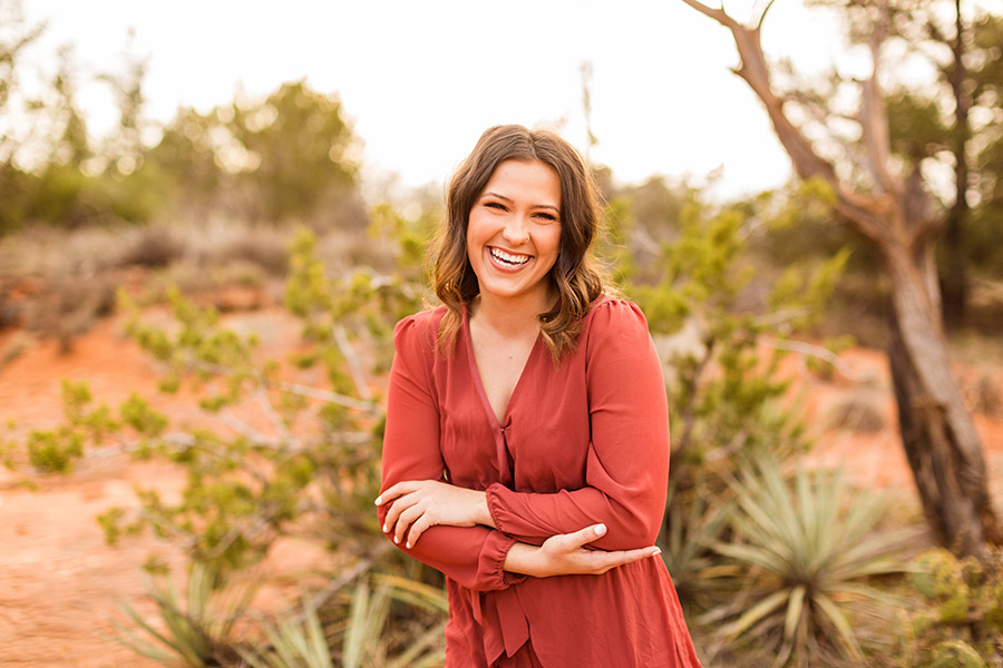 Madelyn: Senior Portrait Photographers Sedona and Flagstaff Arizona