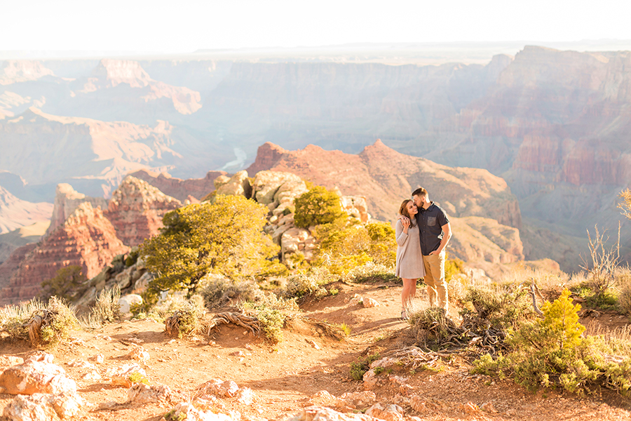 Alyssa and Lance: Grand Canyon Engagement Photographer