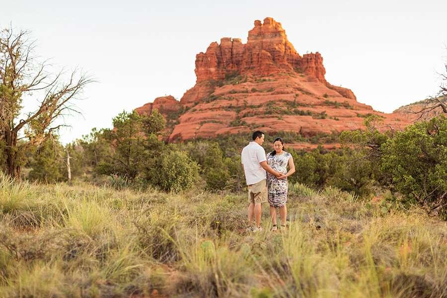 Chu Family: Maternity Photography Northern Arizona