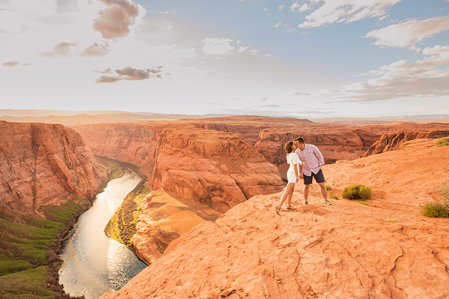 Saaty Photography - Jamie and Pere - Horseshoe Bend Elopement Photographers -41