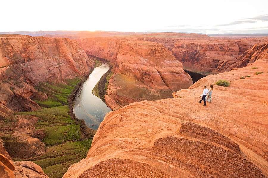 Saaty Photography - Jamie and Pere - Horseshoe Bend Engagement Photographers -49