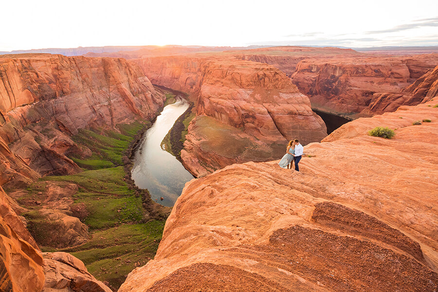 Saaty Photography - Jamie and Pere - Horseshoe Bend Elopement Photographers -94