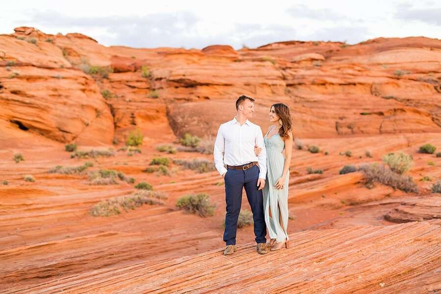 Jamie and Pere: Horseshoe Bend Engagement Photographers