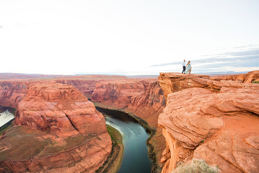 Saaty Photography - Jamie and Pere - Horseshoe Bend Elopement Photographers -97