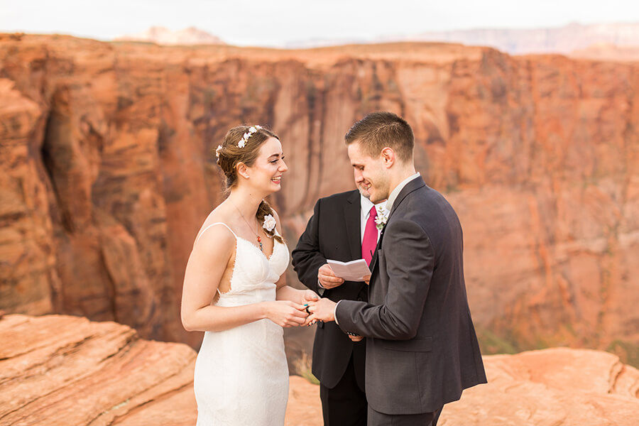 Jenn and Joe: Horseshoe Bend Wedding and Elopement Photographer
