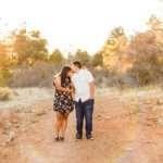 Portraits Sedona and Flagstaff Arizona: Trianna and Miguel