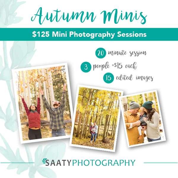 Saaty Photography Flagstaff Autumn Mini-Session