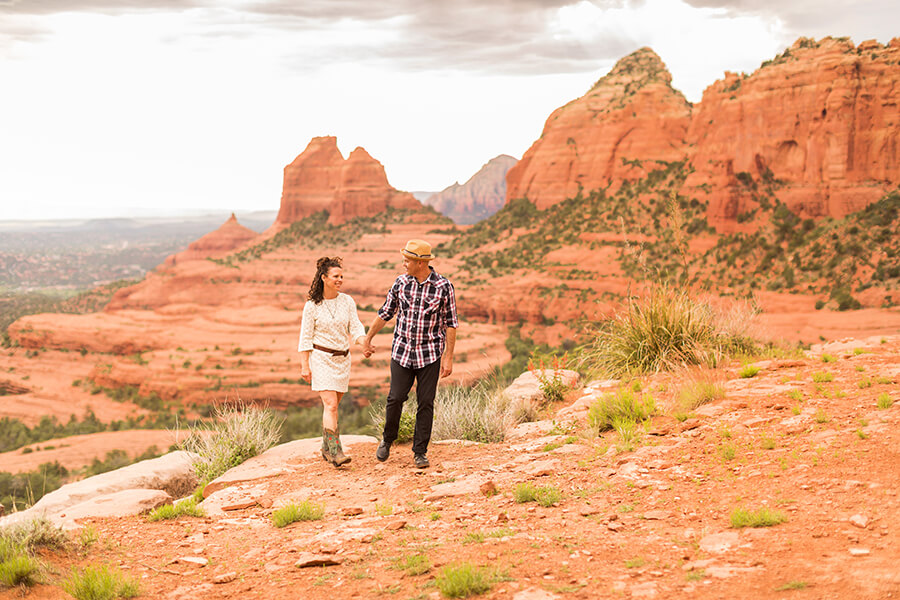 Tara and Kevin: Engagement Photographer Sedona Arizona