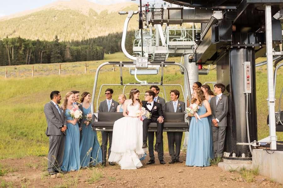 Saaty Photography - Amanda and Quincey - Arizona Snowbowl Wedding Photographer -51326