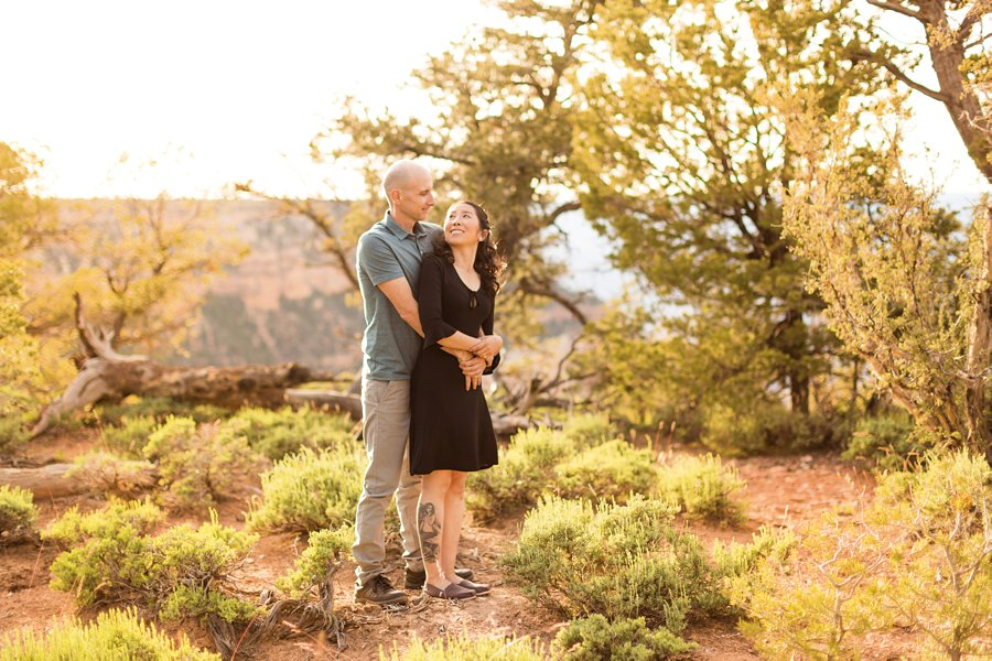 Becca and Tim: Engagement Photographer Grand Canyon