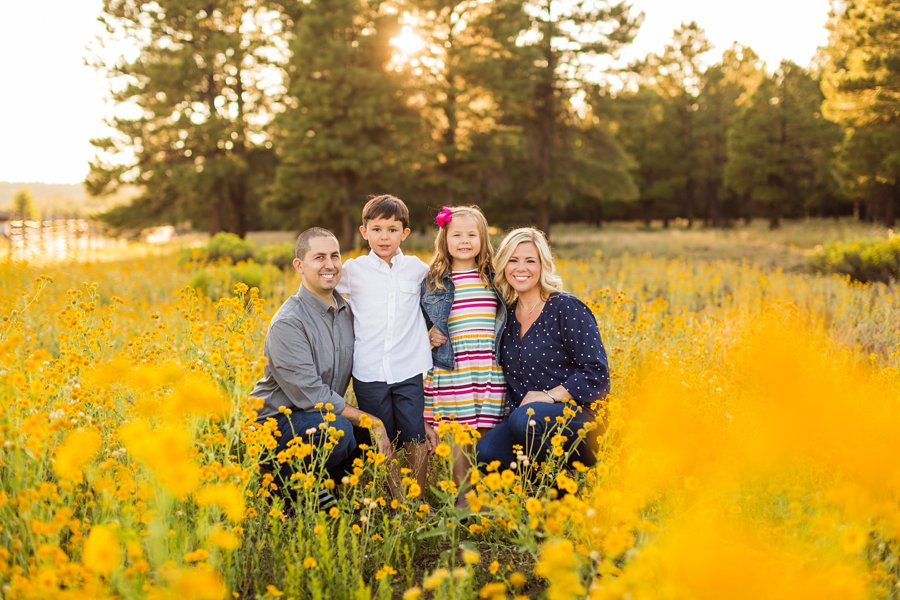 Rojas Family: Portrait Photography Northern Arizona