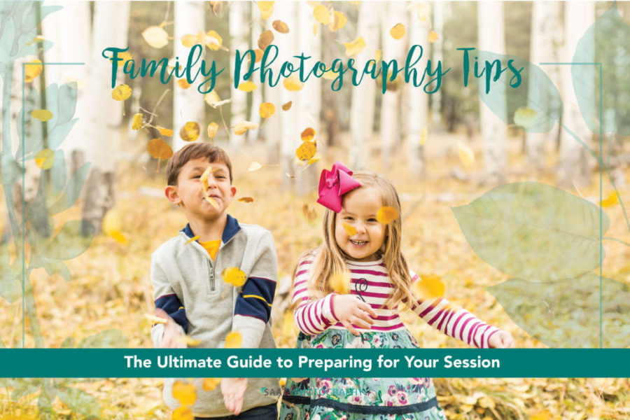 Tips for Family Photos with Little Kids
