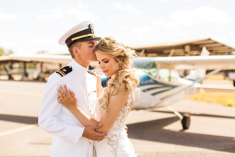 Hannah and Ruben: Flagstaff Wedding Photography Violas Flower Garden
