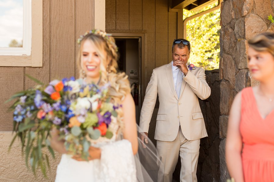 Hannah and Ruben: Flagstaff Wedding Photography Violas Flower Garden