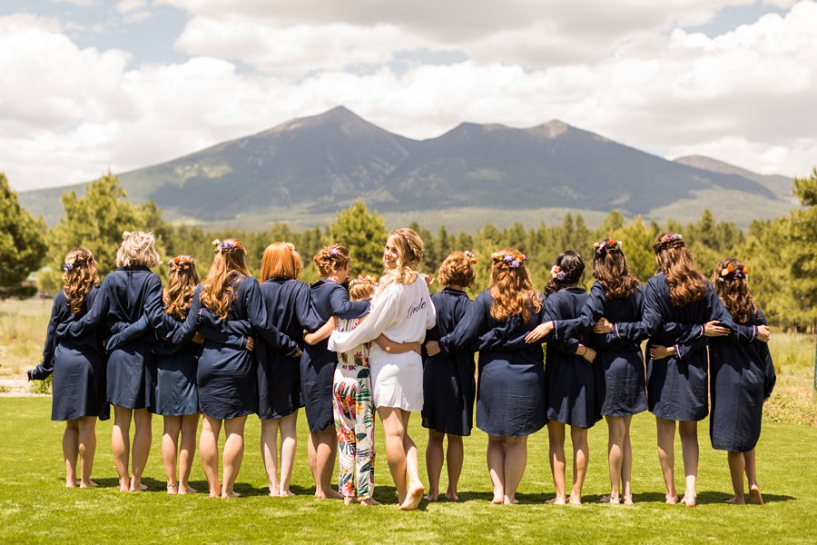 Hannah and Ruben: Flagstaff Wedding Photography Violas Flower Garden-6
