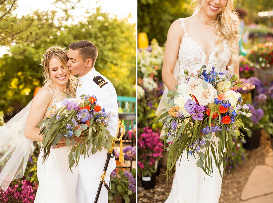 Hannah and Ruben: Flagstaff Wedding Photography Violas Flower Garden - 88