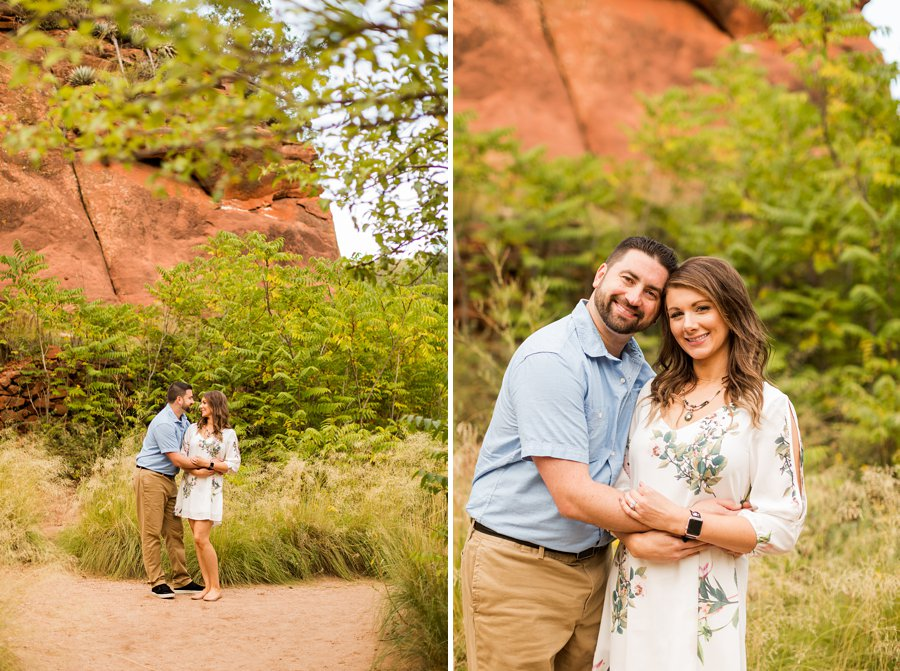 Amanda and Ben - Oak Creek Engagement Photographer 8