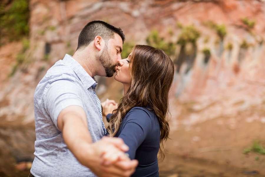 Amanda and Ben - Oak Creek Engagement Photographer 16
