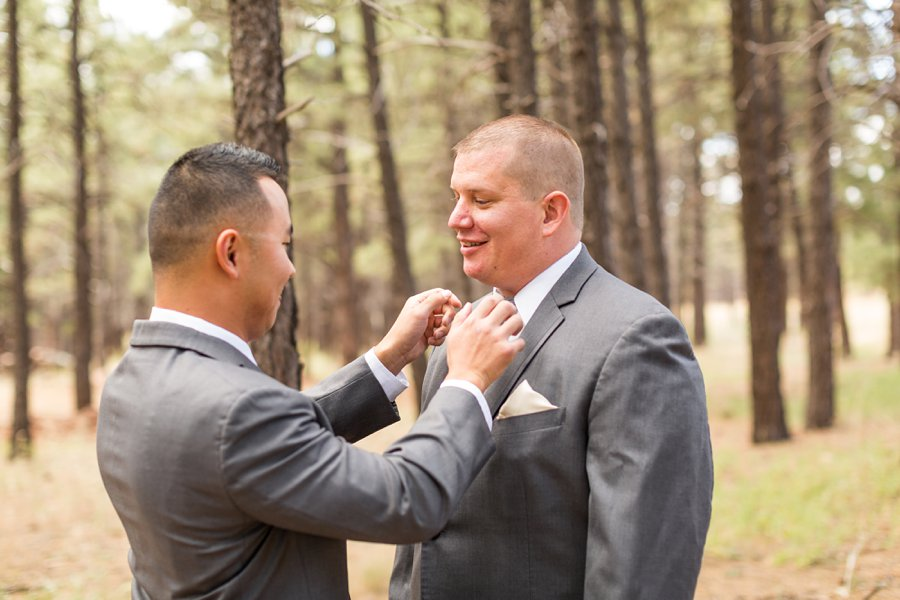 Brieanna and Nathan: Flagstaff Thornagers Wedding Photography 012